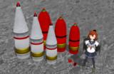 【MMD艦これ】配布_九一式_三式弾+PADセット