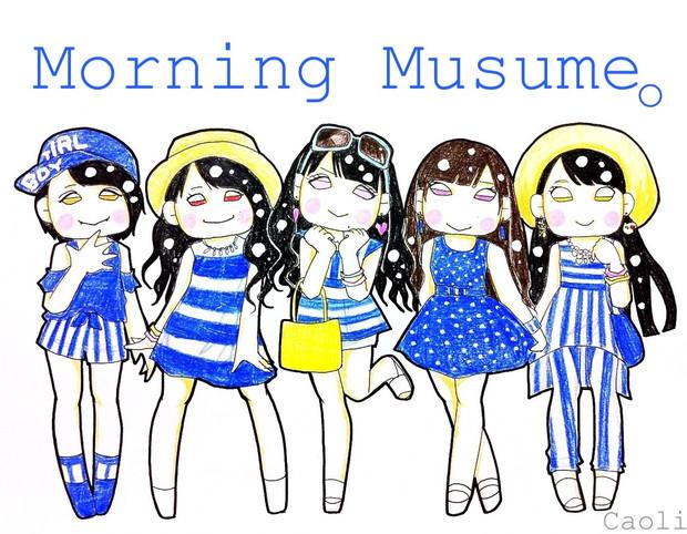 2013夏ハロコン衣装♪娘。暖色系チーム