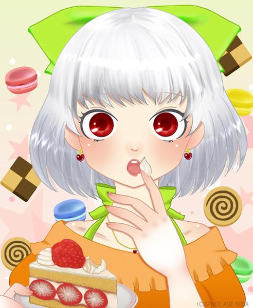 お菓子と女の子と Inugamimano さんのイラスト ニコニコ静画 イラスト