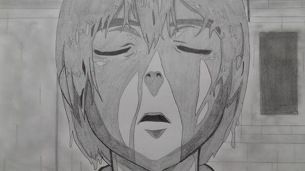 【シャーペン】進撃の巨人OP2(血まみれのアルミン)①