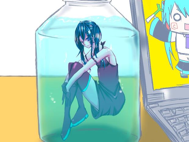 ミク in a ボトル