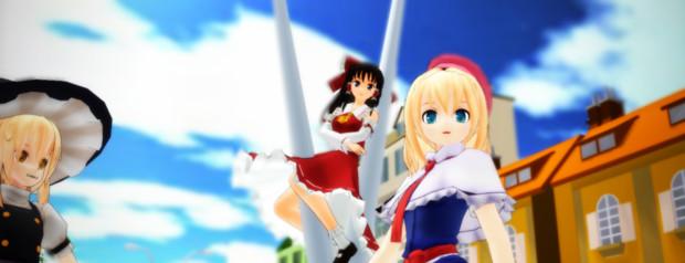 【第11回MMD杯本選】アリスが街を歩くだけ