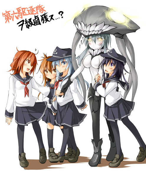 【艦これ】第六駆逐隊に懐かれるヲ級ちゃん