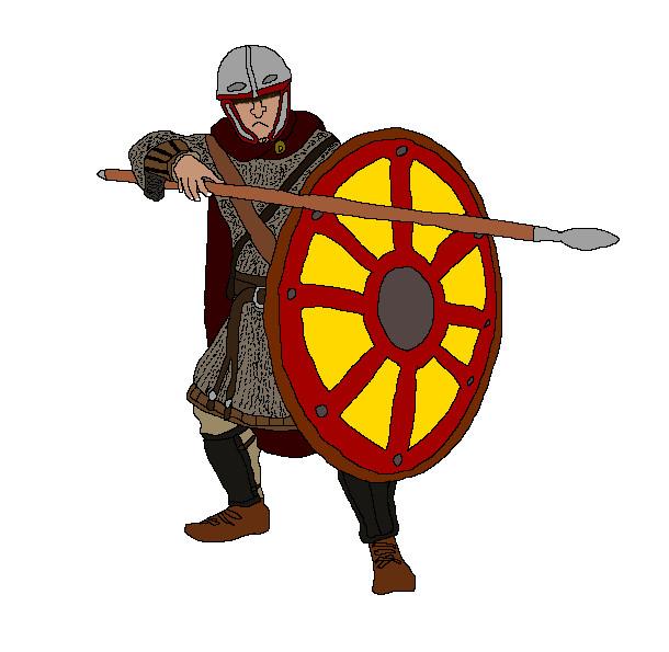 後期ローマ軍団コミタテンセス(機動野戦軍)重装歩兵
