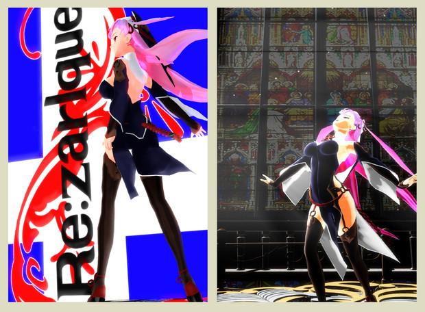 2013夏コミ没絵【MMD】【慟哭のナイトメア】