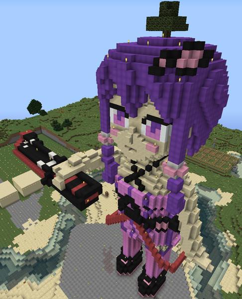 【Minecraft】ダガー憑きゆかりさん