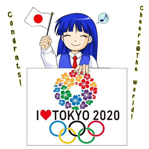 【かすみ19歳】  東京2020におめでとうございます!