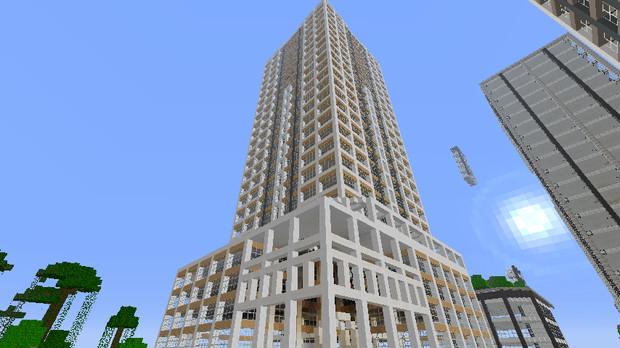 【Minecraft】AK未来ステーションタワー