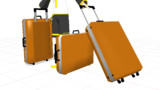 スーツケース 配布