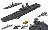 MMD用モブ軽空母艦隊セット