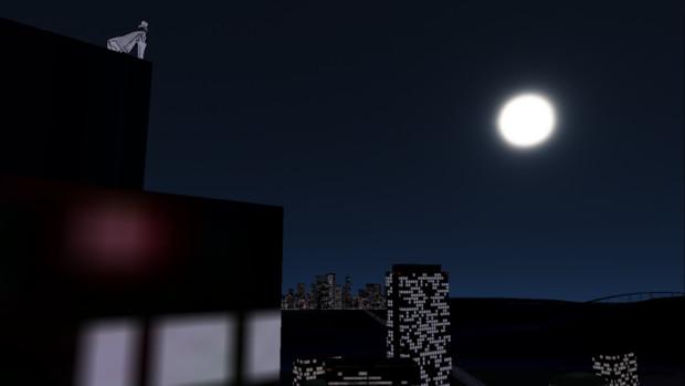 (月が 綺麗ですね……)