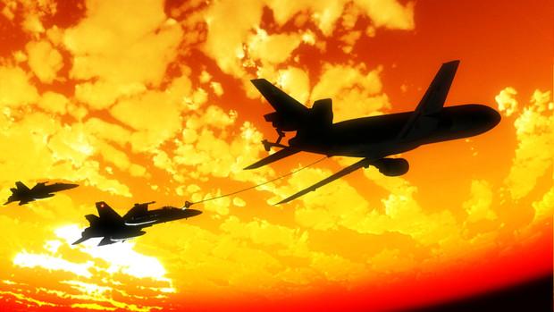 【第三回MMD航空祭】空中給油