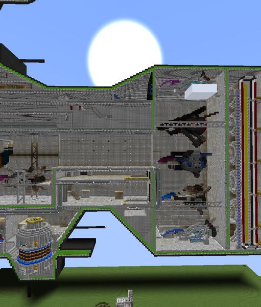 【ヘイムダル級】大型格納庫とその付近【建設中】