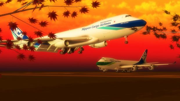 【第三回MMD航空祭】秋の風が運んできたもの