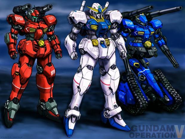 Gundam Operation V