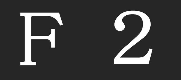 223系編成番号ステッカー F2編成