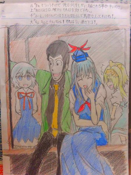 先生と妖精達とで雑談会