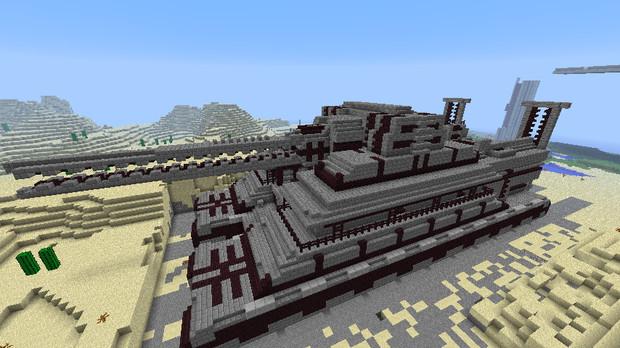 【Minecraft】列車砲の紹介