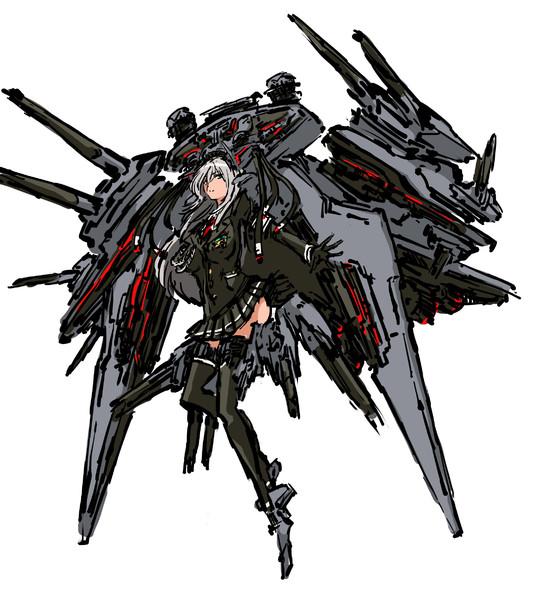 艦これ風エグゼキューター級スター・デストロイヤー