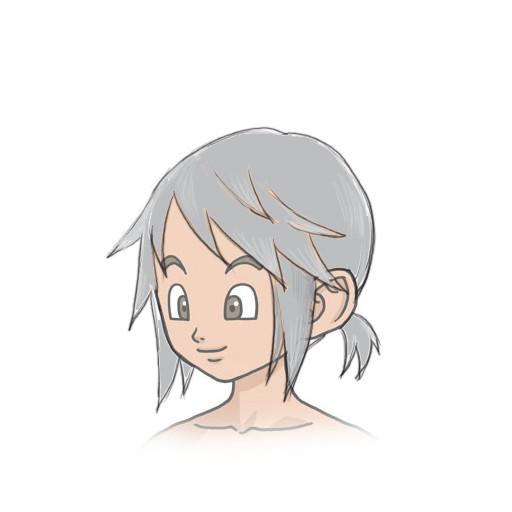dqⅩこんな髪型がほしい人間こども男 Manamia さんのイラスト