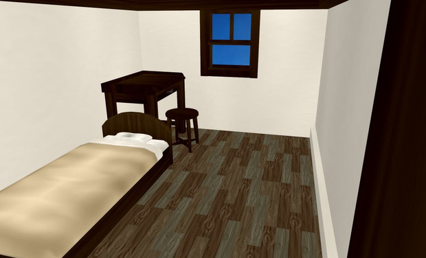【おまけ】宿屋の一室