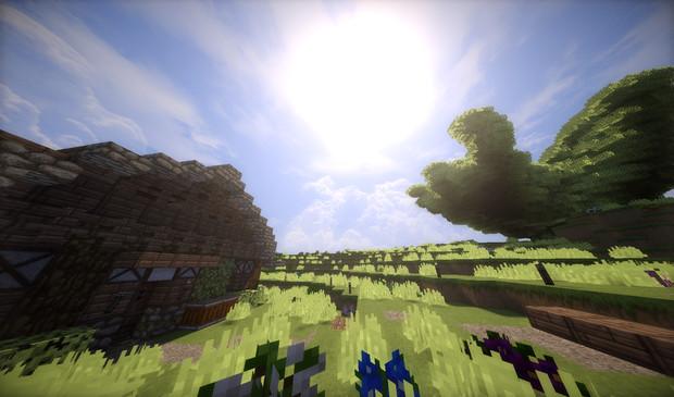 オークの巨木が見える村7