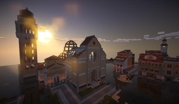 影モッドテスト 例の教会