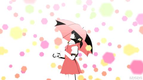 雨上がり【GIFアニメ】