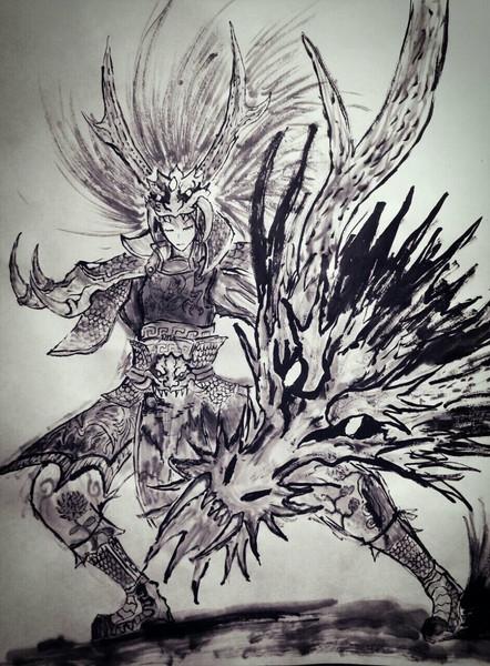 墨姫将 盾