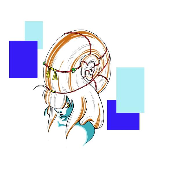 アンモナイトヘアー