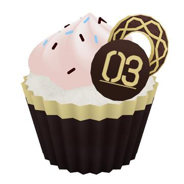 巡音ルカのカップケーキ