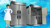 【MMD】ホシザキ業務用冷蔵庫 HR-90S3モデル【配布】