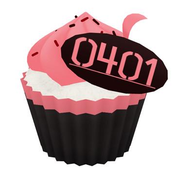 重音テトのカップケーキ