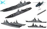 MMD用モブ巡洋艦隊セット