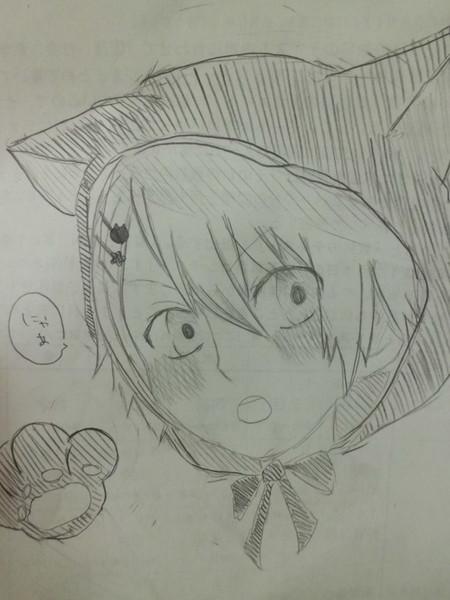 ネコフード翔ちゃん( ˙灬˙ )