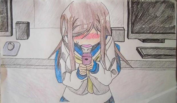 ゆゆ式の相川千穂ちゃん描いてみた