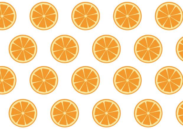 【背景素材300】オレンジ1