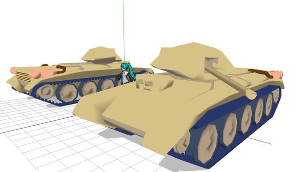 【MMD】クルセイダー巡航戦車