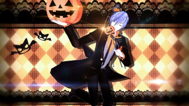 【MMD】兄さんのハロウィーン魔法【KAITO】