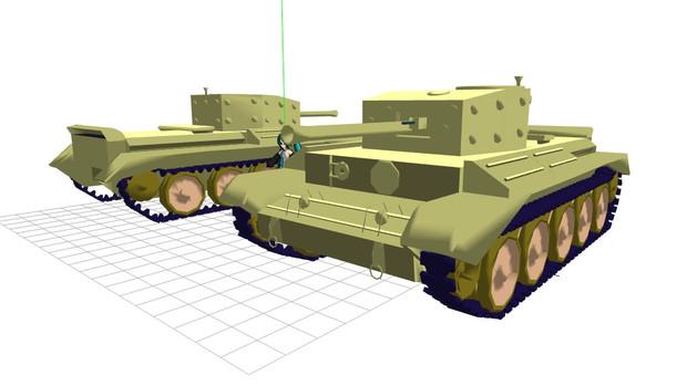 【MMD】クロムウェル巡航戦車