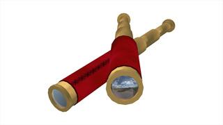 屈折式望遠鏡の例