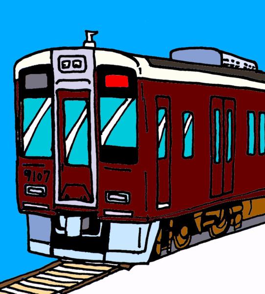阪急電鉄7000系7007F