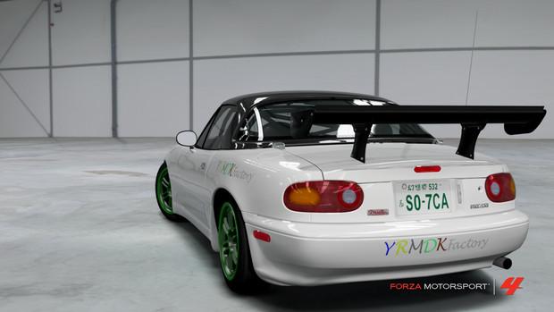 【東方レーシング】るるさんが富士見峠に挑むようです【Forza4】