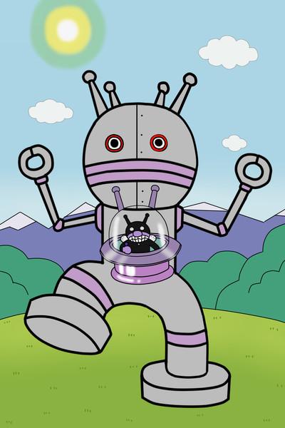 バイキンマン ロボット