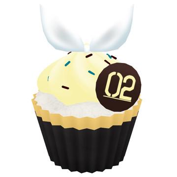 鏡音リンのカップケーキ