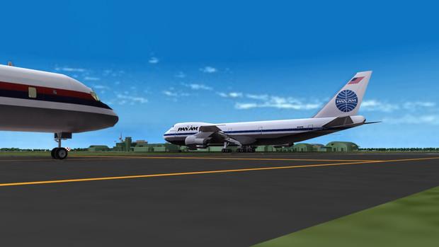 Take off Pan American