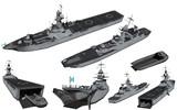 MMD用モブ揚陸艦セット