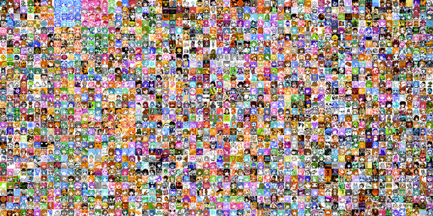 のべ2048名 Twitterアイコン ファミコンドット化まとめ。
