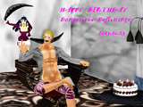 【MMDワンピ】若様お誕生日おめでとうございます【ドフィ誕】