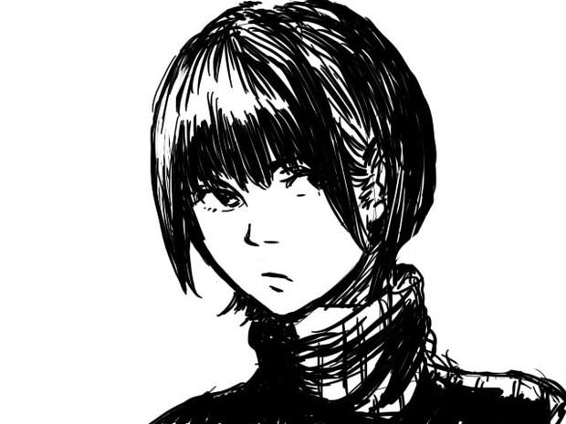 ショートカット女子 おきむ さんのイラスト ニコニコ静画 イラスト